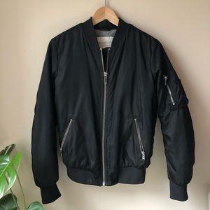 Aritzia Gilman Bomber Jacket